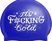 Sweary Swimhats available in  Purple, Pink or Blue - will be sent out end of  October