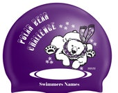 Name on Polar Bear Challenge swimhat 2021/22 - will be sent out end of October