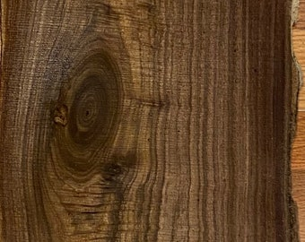 """10""""-16""""x48"""" Walnut Slabs, Black walnut, Live edge slabs. Perfect for laser cut, engraving and many more uses."""