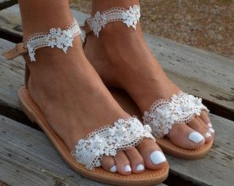 fa88e2aa5185b White lace sandal
