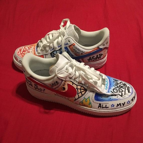 Nike Air Force 1 Vlone Custom