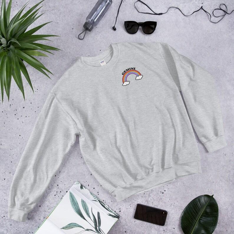 dda200f8f Gemini Sweatshirt Gemini Shirt Women Gemini Gifts May | Etsy