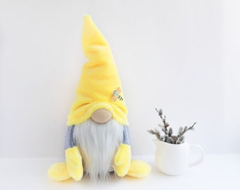 e2b2aa555a5 Very soft gnome with dragonfly unusual gift