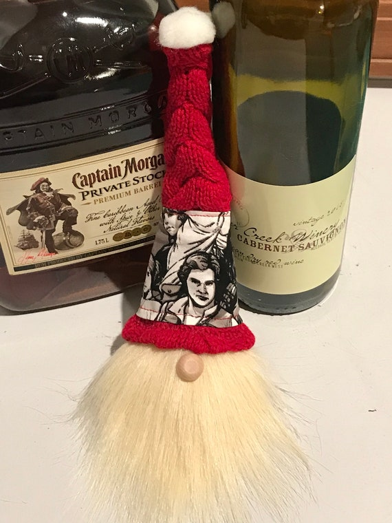 714c1017f176 Star Wars wine booze bottle gnome. Red knit with with Star