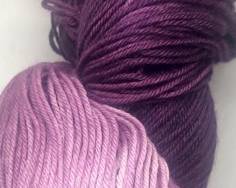 MCN Sock Yarn in Violet-Backed Starling