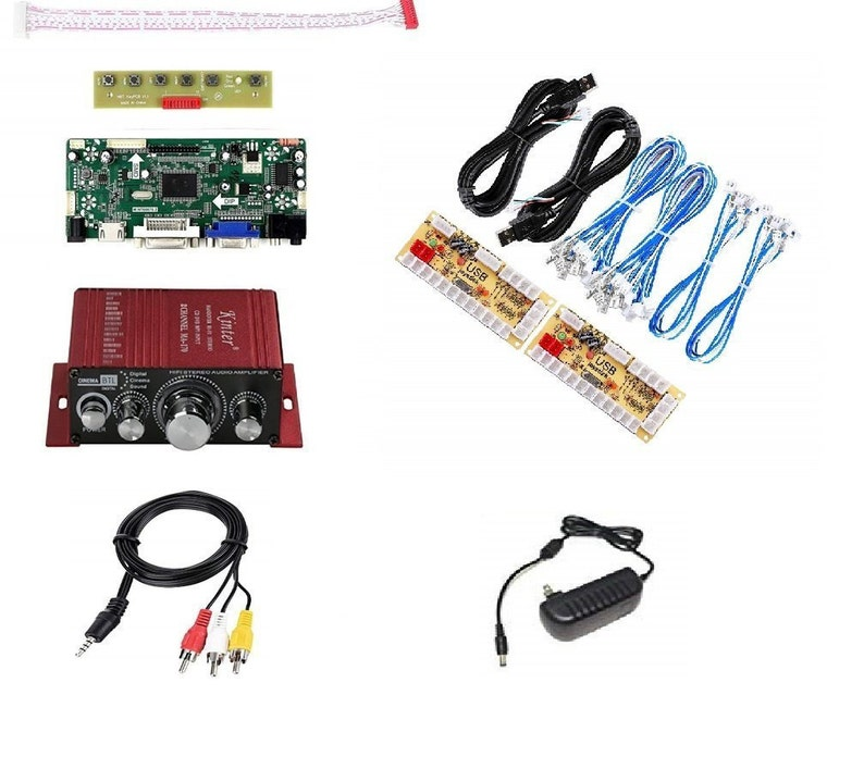 Arcade1up Raspberry pi 3 Mod kit (No Sticks or Buttons) with over 9000 games