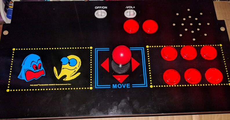 Arcade1up Raspberry pi 3 Mod kit complete 1 Player for Pacman or Galaga  with over 9000 games