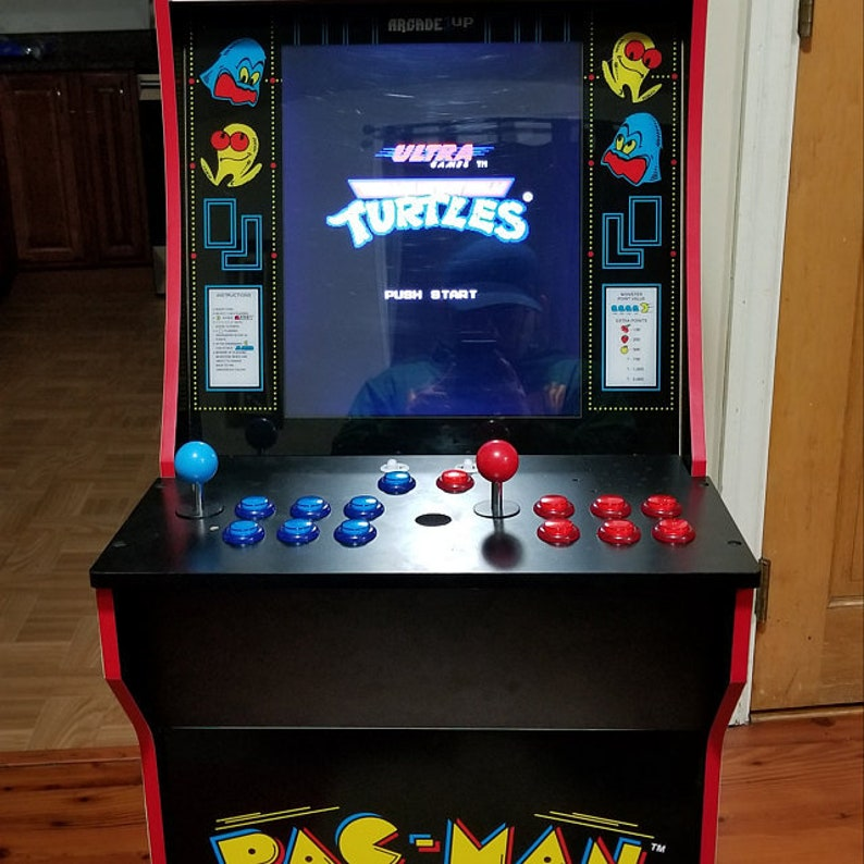 Arcade1up Raspberry pi 3 Mod kit complete 2 Player for Pacman with over  9000 games  Mod Service included