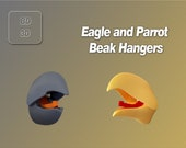 Bird Beak Coat/Hand Towel Hanger