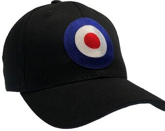 2d64ae64d70 RAF Royal Air Force Hat Ball Cap - BLACK
