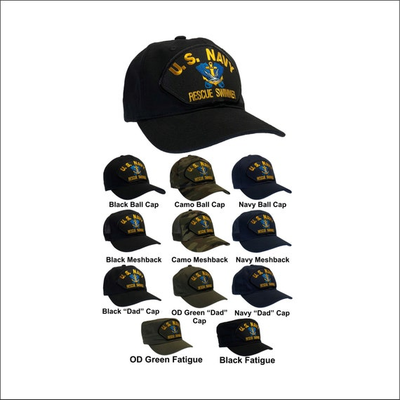 US Navy Rescue Swimmer Hat (No Wings) Surface Version