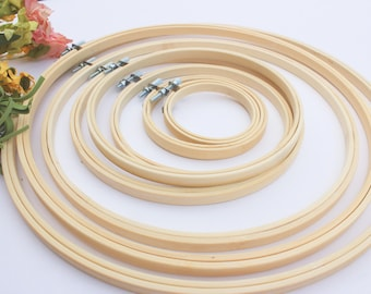 Bamboo Embroidery Hoop, Cross Stitch Hoop, Hoop for Hand Embroidery, Hoop Art, Cross Stitch Frame, Wooden Embroidery Hoop, Wooden Hoop