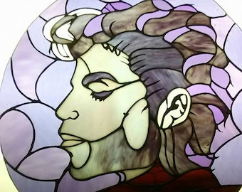 Prince in Stained Glass