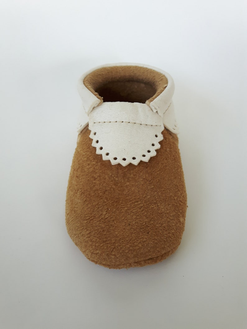 73b870fa4baa1 Eco friendly leather baby shoes & moccasins; 18-24 months