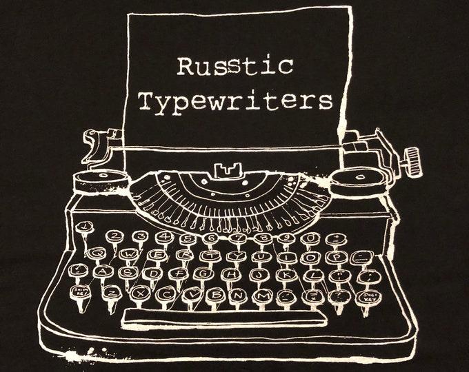 Russtic Typewriters T-Shirt