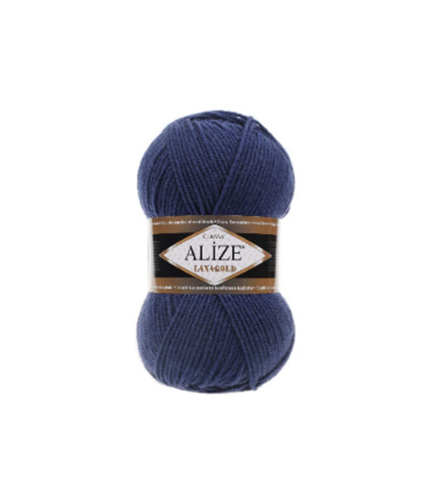 426 Petrol Handmade Alize 5 x 100 g Lanagold PREMIUM wool 49 percent wool and 51 percent acrylic
