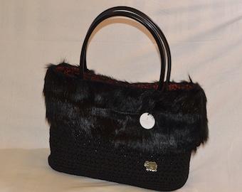 Items similar to Green orange handbag f073b26180680