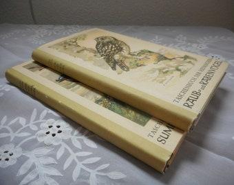 Two Ancient Destination Books Birds Nature