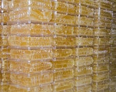 Beautiful Succulent Comb Dripping with Raw Honey Pure Natural Honeycomb