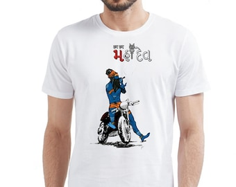 48a41ff1 bholenath printed t-shirt with funky looking .