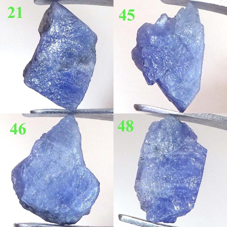 100/% NATURAL GREEN BLUE TANZANITE MAGNIFICENT UNTREATED SPECIMEN ROUGH 24.20Cts