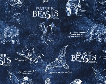63f6c2c5a44 Fantastic beasts fabric