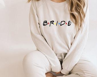 Matching Bridal Party Sweatshirts Matching Bridal Jumpers Bridal Party Gift Matching Bridesmaid Gift Bridesmaid Bride Matching