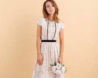 Simple Lace Dresses