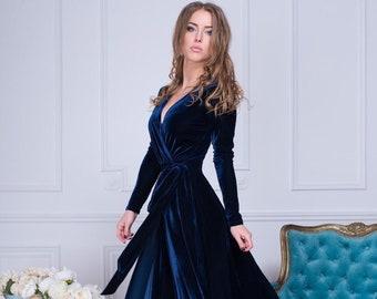 716d72fe0d Long sleeve evening gown