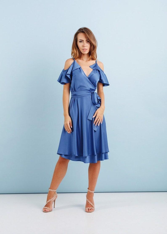 b8519ce6c21e Light Blue Cocktail Dress - ShopStyle
