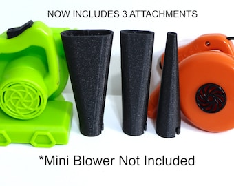 The Original Mini Blower Attachments© Acrylic Pouring Tools for Dutch Pours and more! - Set of Three