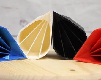 6oz Quad Split Cup for Acrylic Pouring - The Original No Drip Spouted QUAD Split Cup©