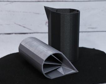 10oz Quad Split Cup for Acrylic Pouring - The Original No Drip Spouted QUAD Split Cup©