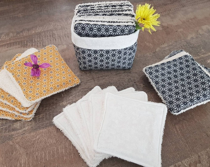 Panière and its 12 washable wipes