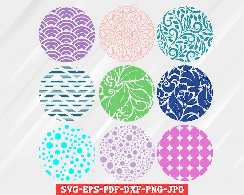 Tropical Round Keychain Patterns Svg  – 88+ SVG Design FIle