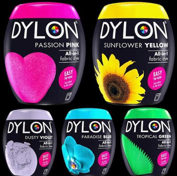Fácil de Usar Máquina Dylon Tinte vainas 350g-completa gama de colores disponibles!