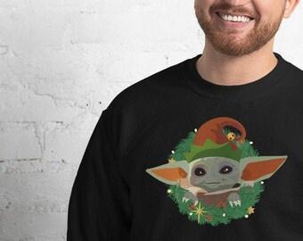 The Child Baby Alien Unisex Sweatshirt