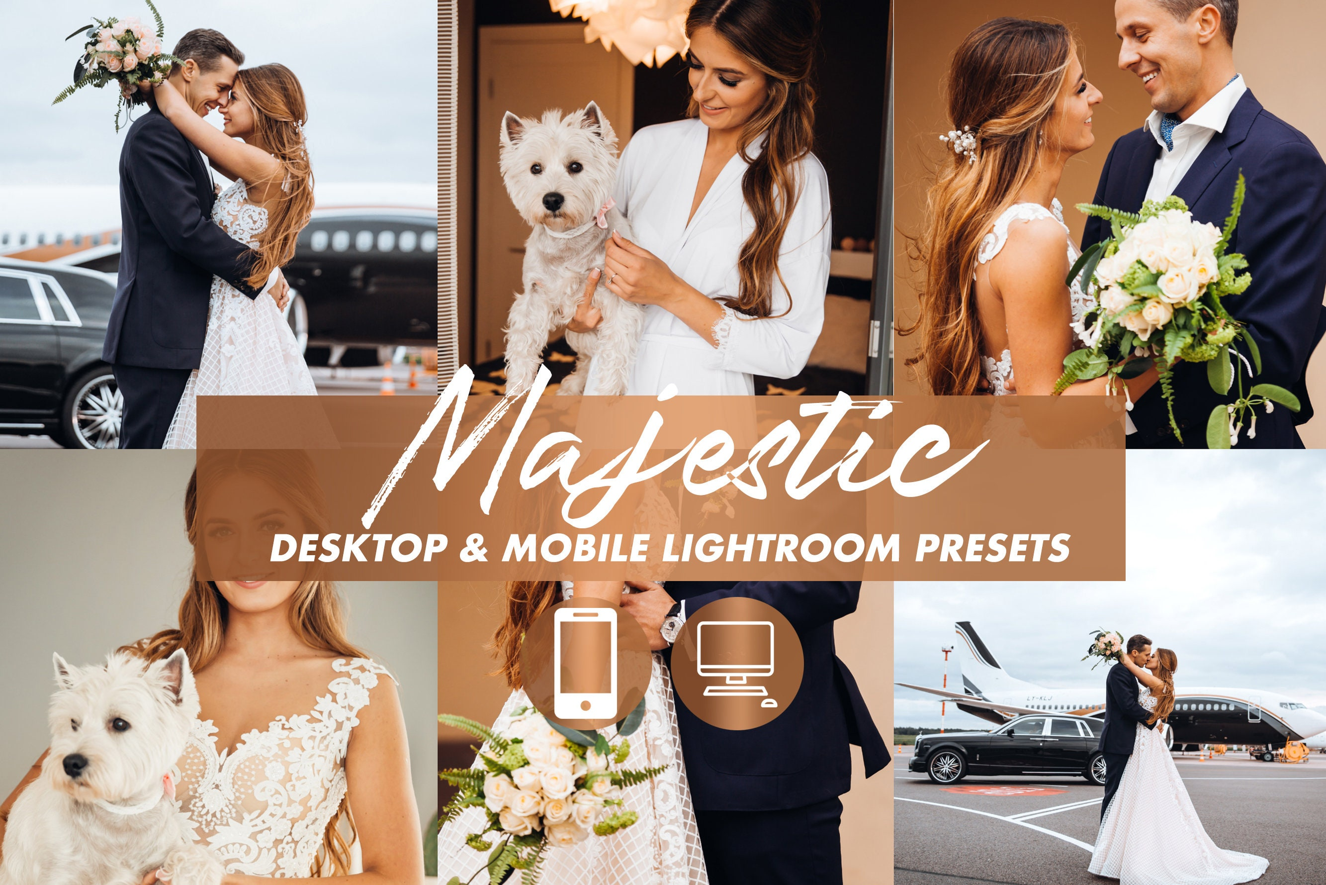 Mobile Lightroom Preset MAJESTIC Warm Moody Premium Wedding