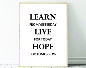 Live For Today Etsy