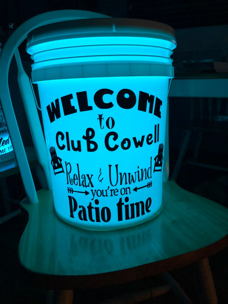Patio Glow Bucket