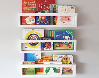 Shelf For Books Shelves And Toys Library Childrens Room Bookshelf Bookcase Wall Book