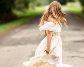 SameeFloral Dress for Women Black White Striped Casual Off Shoulder O-Neck Long Boho Dresses