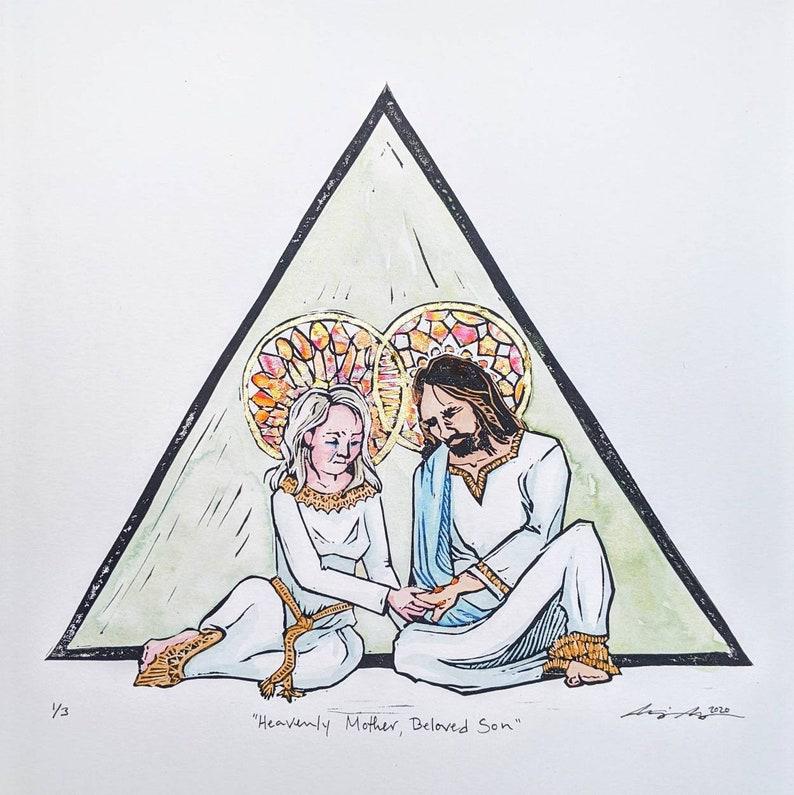 Heavenly Mother Beloved Son Jesus Christ Heavenly Parents image 0