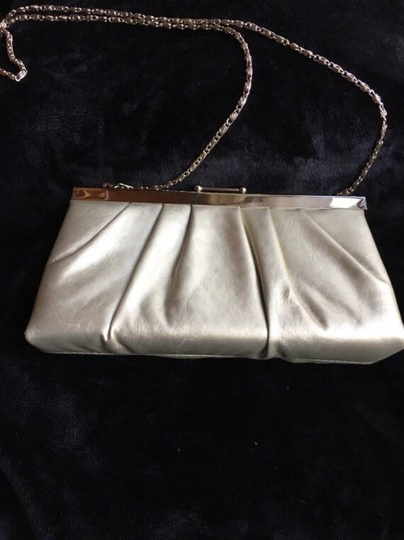 Gunne Sax purse, silver