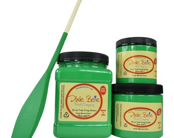 Tree Frog Green- Dixie Belle Paint Chalk Mineral, Furniture Paint, Cabinet Paint