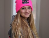 Pink Beanie / Stocking Cap - Local Pickup