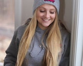 Gray Beanie / Stocking Cap - Local Pickup