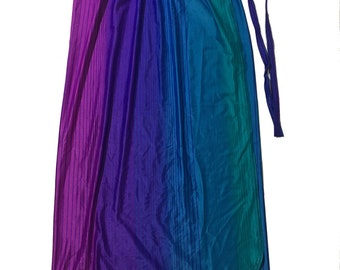 ec2980a40 Vintage Swimsuit Cover Wrap Skirt 70s 80s Rainbow lycra