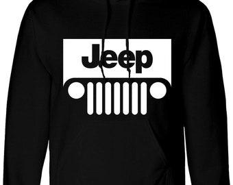 dc08203e6 Jeep hoodie | Etsy