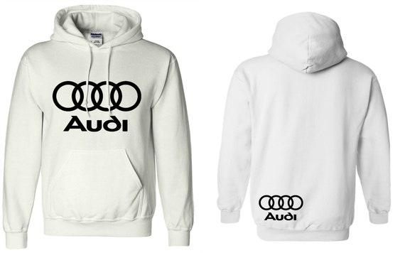 Audi Sweat Sweat Audi à capuche de course voitures Dope allemand JDM A4 A3  pull unisexe ... abb5646cd718